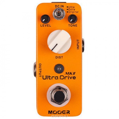 Гитарная педаль Mooer Ultra Drive MKII Distortion
